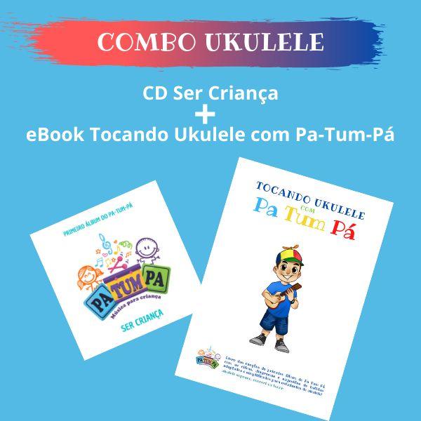 Imagem principal do produto CD+LIVRO TOCANDO UKULELE COM PA-TUM-PÁ