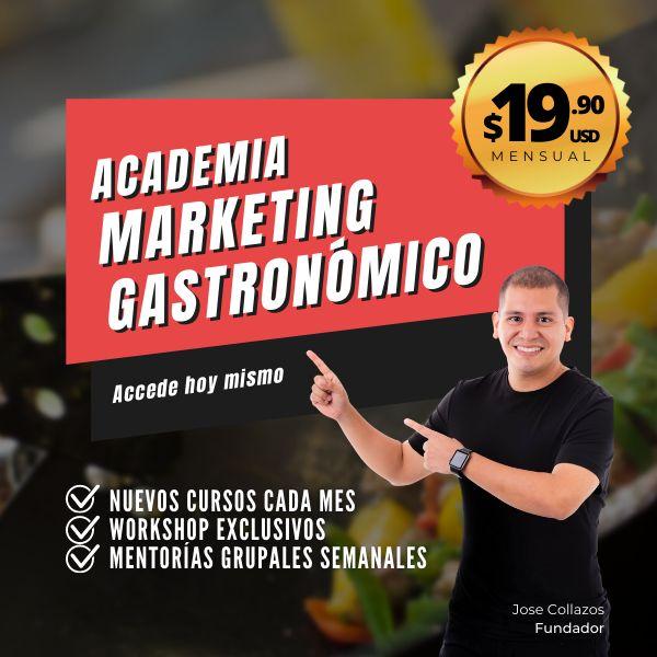 Imagem principal do produto Academia Marketing Gastronómico
