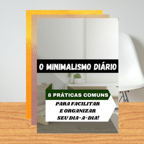 Imagem principal do produto As 8 práticas para organizar seu dia-a-dia