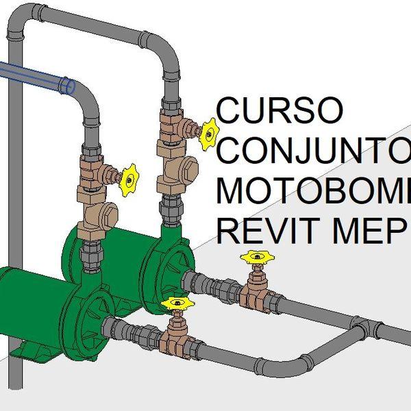 Imagem principal do produto Curso Projeto de conjuntos motobombas para edifícios no REVIT