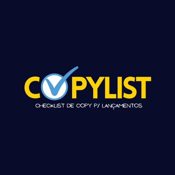 Imagem principal do produto CopyList - Checklist de Copywriting para Lançamentos