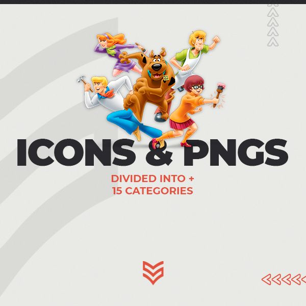 Imagem principal do produto Icons and Pngs divided in + 15 categories