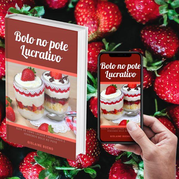Imagem principal do produto Bolo no pote Lucrativo