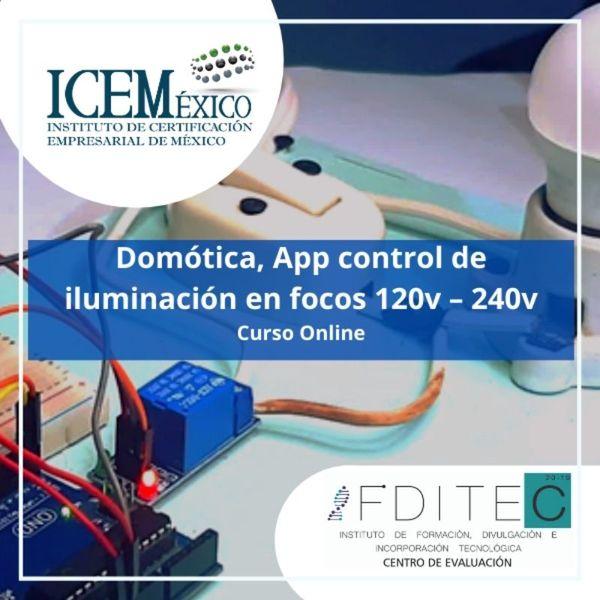 Imagem principal do produto Domótica, App control de iluminación en focos 120v – 240v