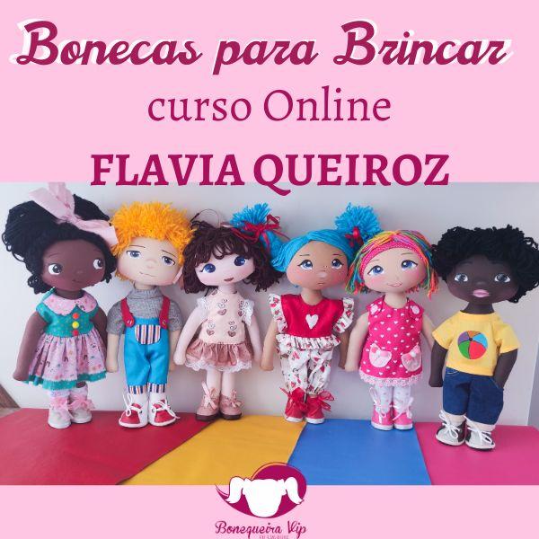 Imagem principal do produto Bonecas Para Brincar 1.0 - FLAVIA QUEIROZ
