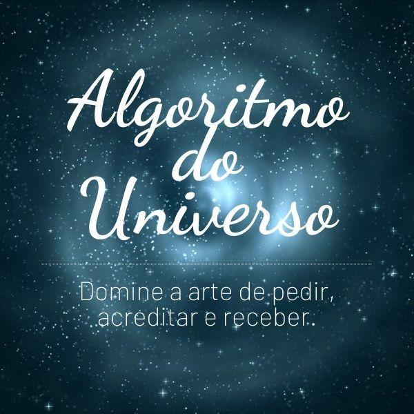 Imagem principal do produto Algoritmo do Universo- Por Barbara e Raquel Marins