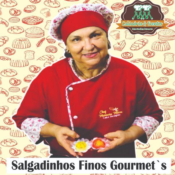 Imagem principal do produto Curso de Salgadinhos Finos Gourmets (Forno).
