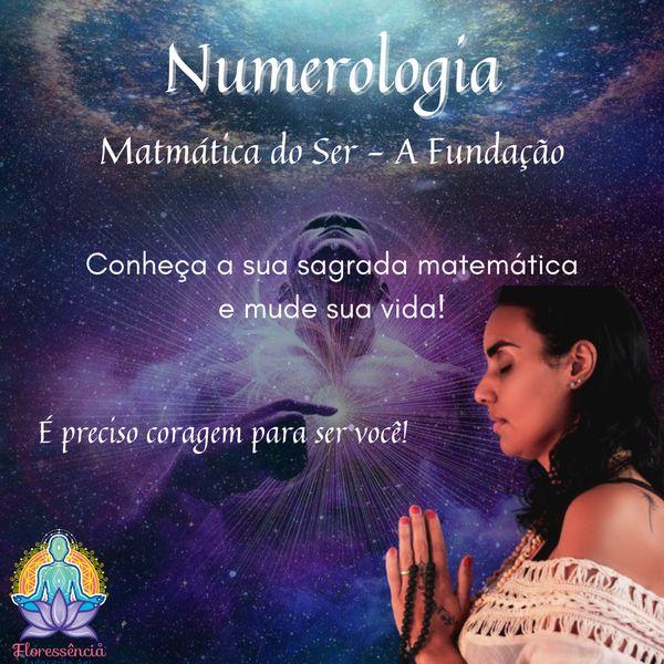 Imagem principal do produto Numerologia - Matemática do Ser - A Fundação