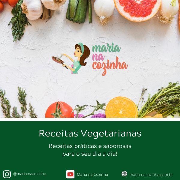 Imagem principal do produto E-book Receitas Vegetarianas Práticas e Saborosas