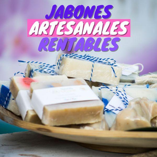 Imagem principal do produto CURSO EN LÍNEA DE JABONES ARTESANALES