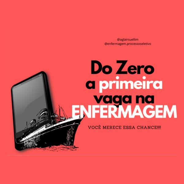 Imagem principal do produto Do Zero a sua Primeira Vaga na Enfermagem