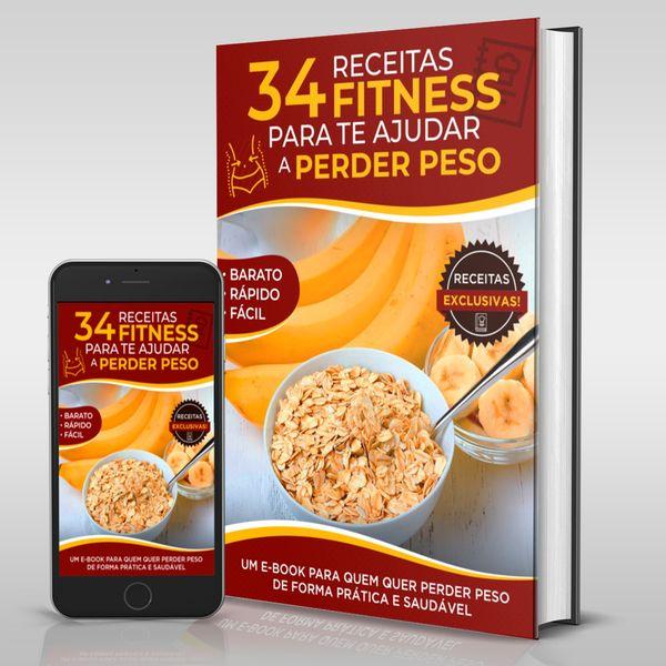 Imagem principal do produto 34 Receitas receitas fitness para te ajudar a perder peso