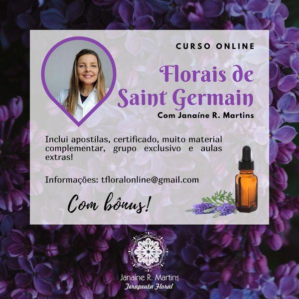 Imagem principal do produto Curso Florais de Saint Germain