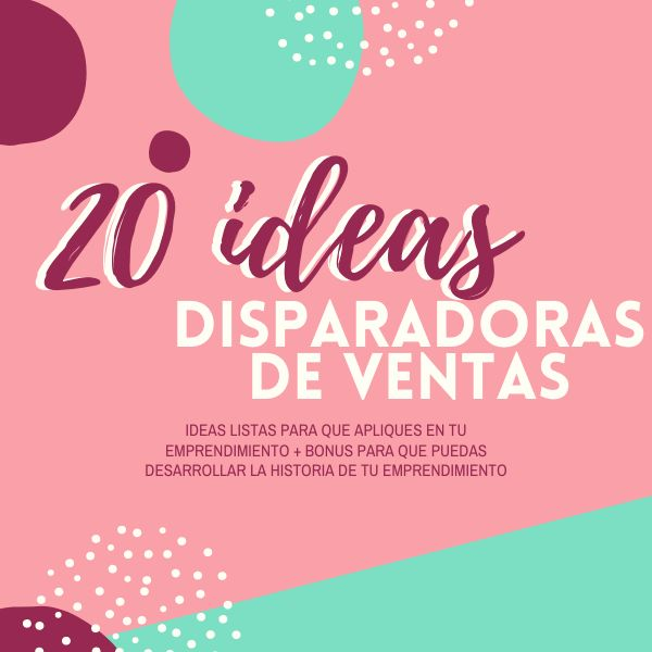 Imagem principal do produto 20 Ideas disparadoras de ventas