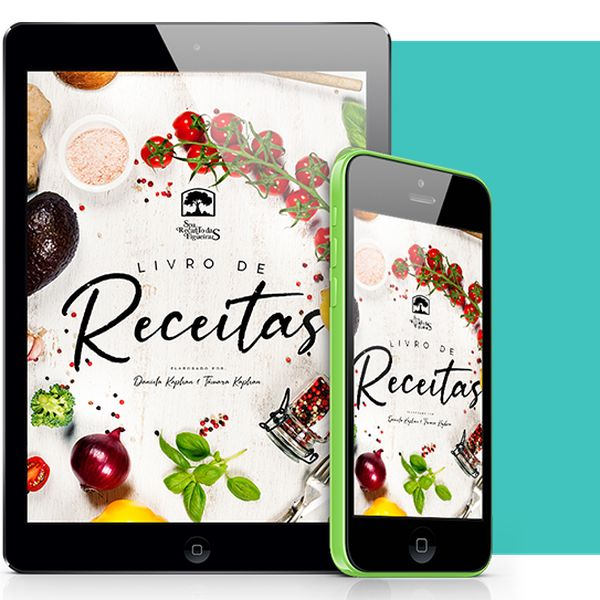 Imagem principal do produto E-book Receitas Saudáveis que Emagrecem