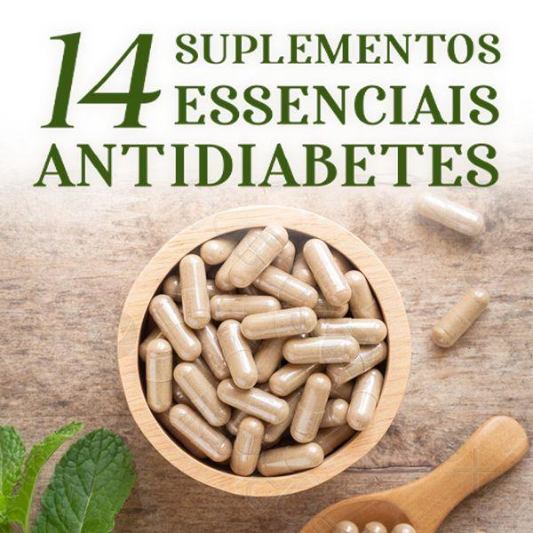 Imagem principal do produto 14 Suplementos Essenciais Antidiabetes