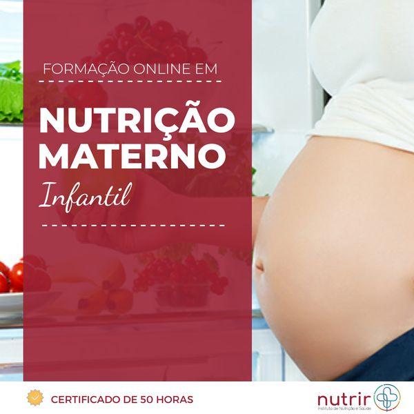 Imagem principal do produto CURSO DE FORMAÇÃO EM NUTRIÇÃO MATERNO INFANTIL