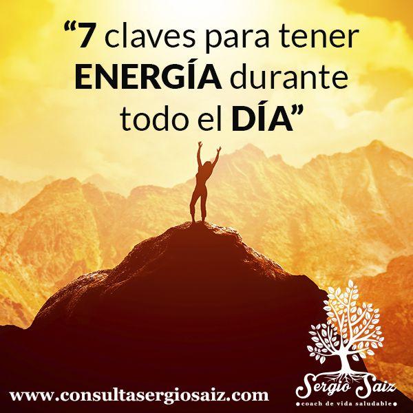 Imagem principal do produto 7 claves para obtener energía durante todo el día