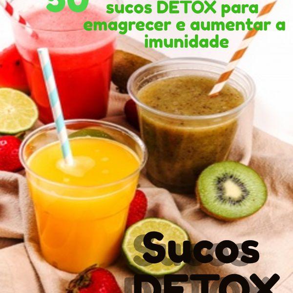 Imagem principal do produto 50 Receitas sucos DETOX
