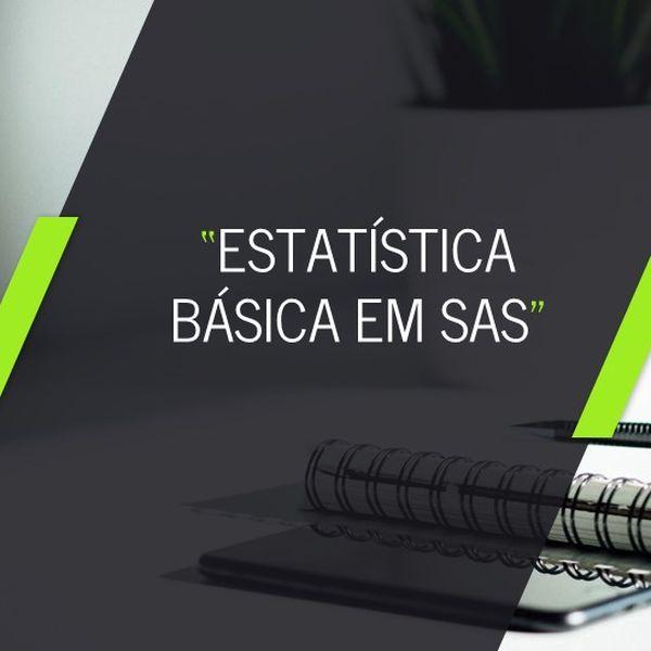 Imagem principal do produto Curso de Estatística Básica em SAS Studio