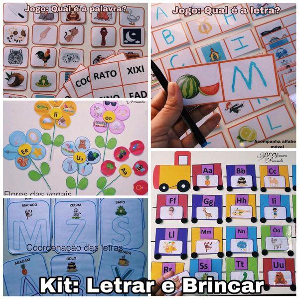 Imagem principal do produto Kit Letrar e Brincar
