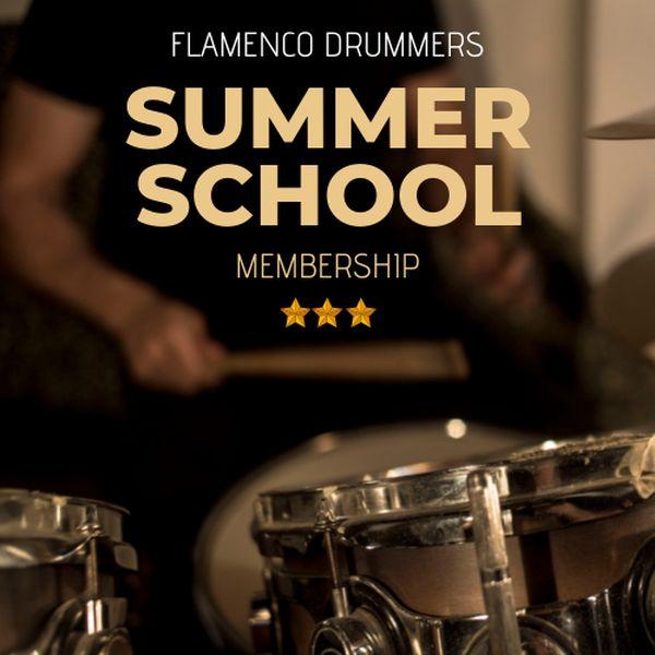 Imagem principal do produto Flamenco Drummers Summer School