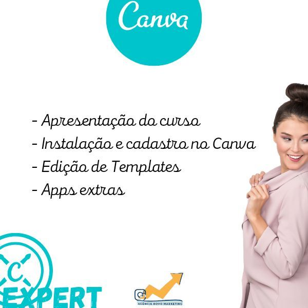Imagem principal do produto Canva EXPERT - Foco em Instagram