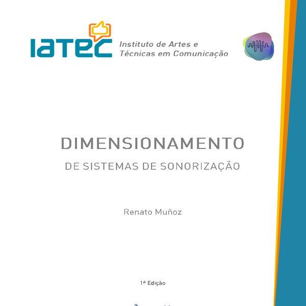 Imagem principal do produto E-Book Dimensionamento de Sistemas de Sonorização