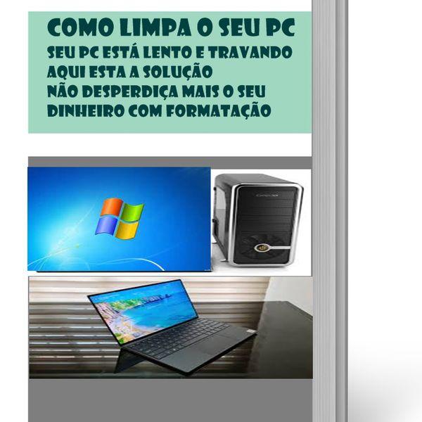 Imagem principal do produto Como limpa o seu PC