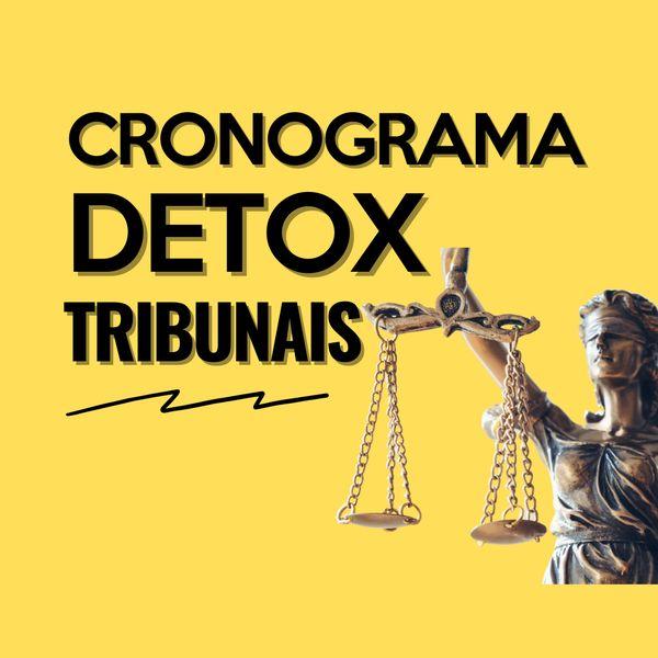 Imagem principal do produto CRONOGRAMA DETOX - TRIBUNAIS