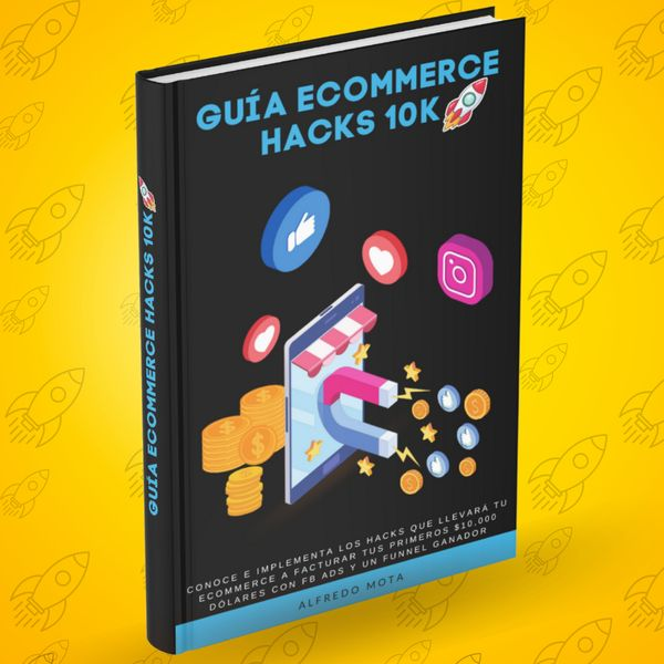 Imagem principal do produto Guía Ecommerce Hacks 10k