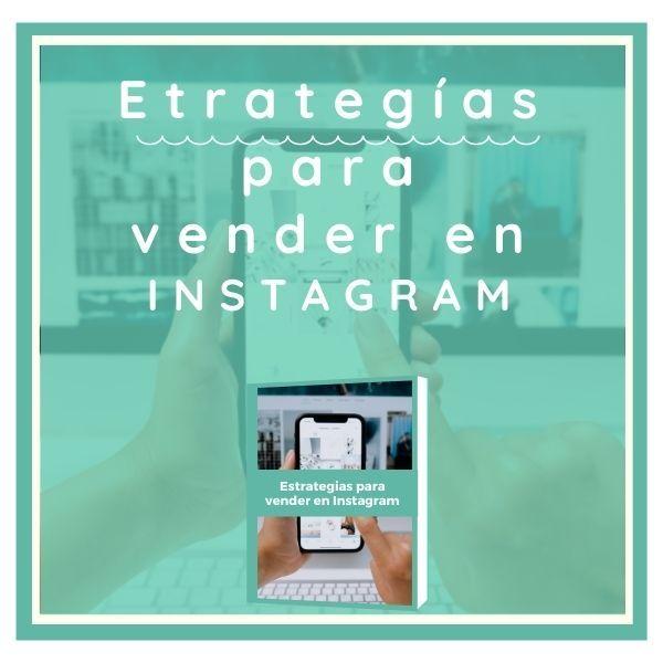 Imagem principal do produto Estrategias para vender en Instagram