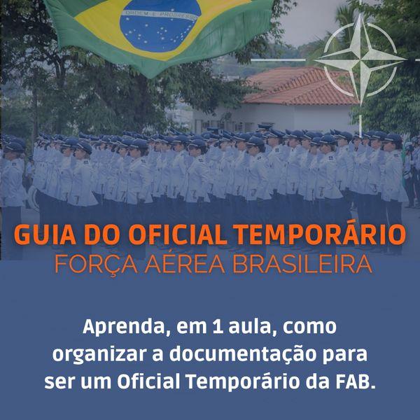 Imagem principal do produto Guia do Oficial Temporário FAB