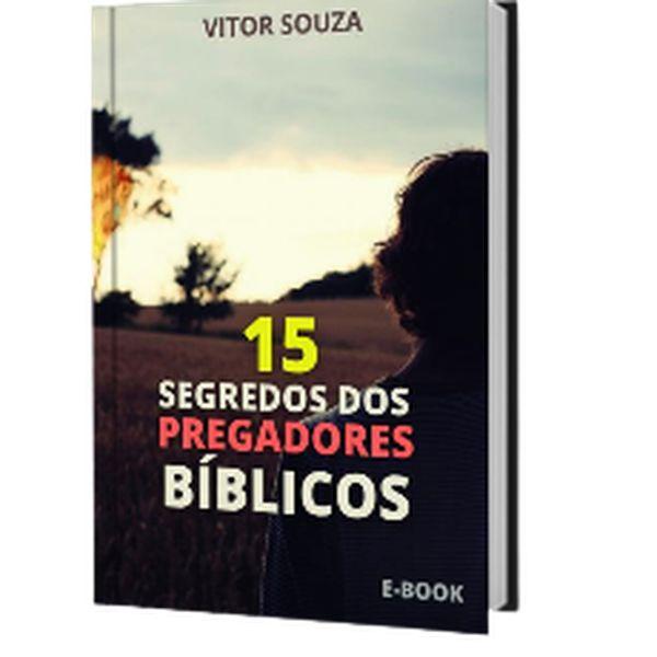 Imagem principal do produto 15 SEGREDOS DOS PREGADORES BÍBLICOS