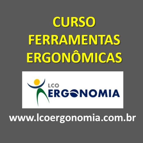 Imagem principal do produto CURSO FERRAMENTAS ERGONÔMICAS