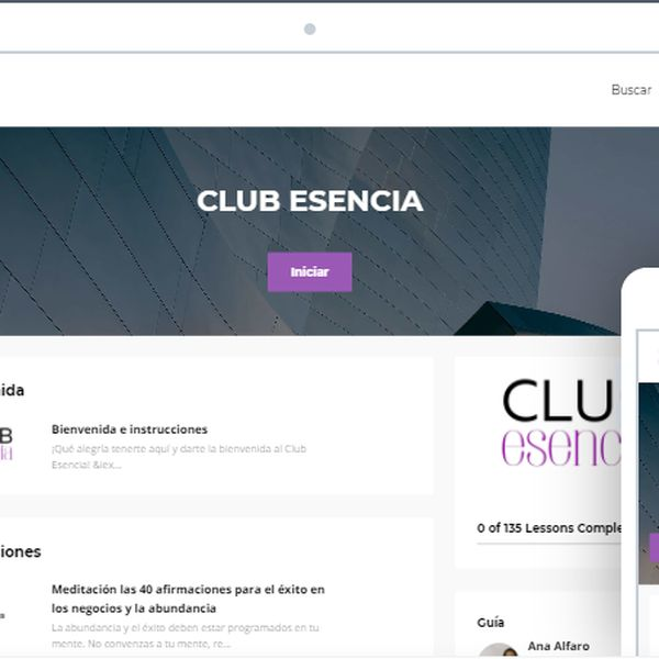 Imagem principal do produto CLUB ESENCIA