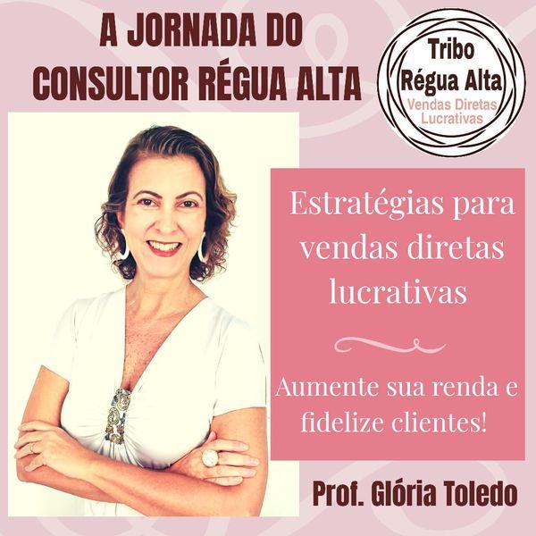 Imagem principal do produto A Jornada do Consultor Régua Alta - Vendas Diretas Lucrativas