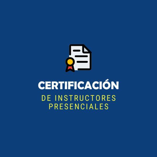 Imagem principal do produto Certificación de Instructores Presenciales