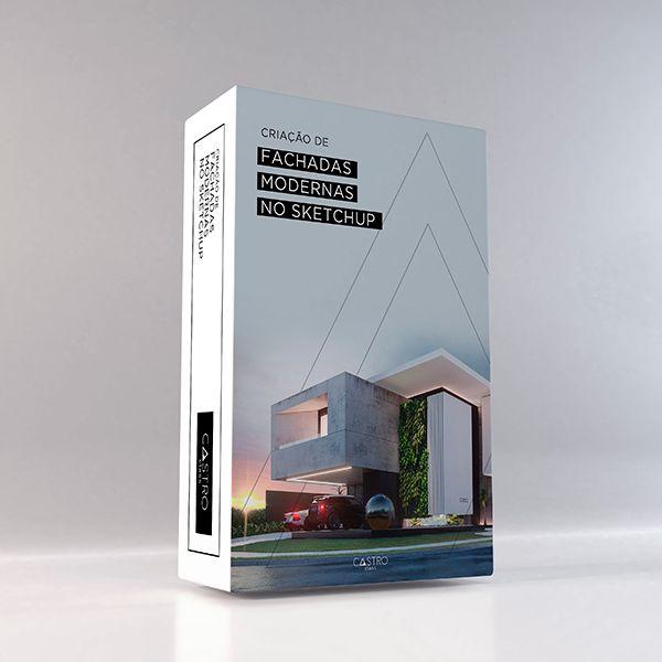 Imagem principal do produto Criação de fachadas modernas no Sketchup