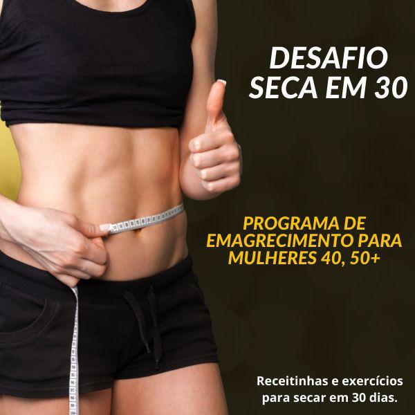 Imagem principal do produto DESAFIO SECAR EM 30 DIAS