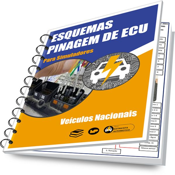 Imagem principal do produto Esquemas Pinagem de ECU-Nacional