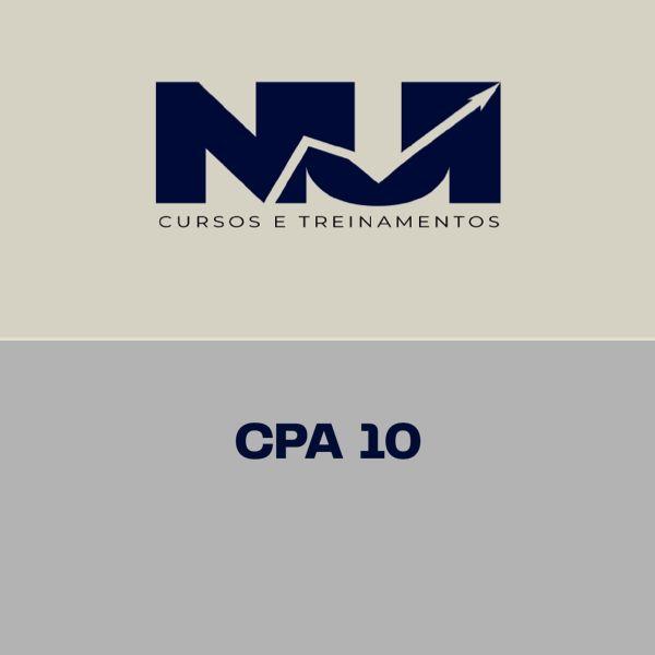 Imagem principal do produto CPA 10