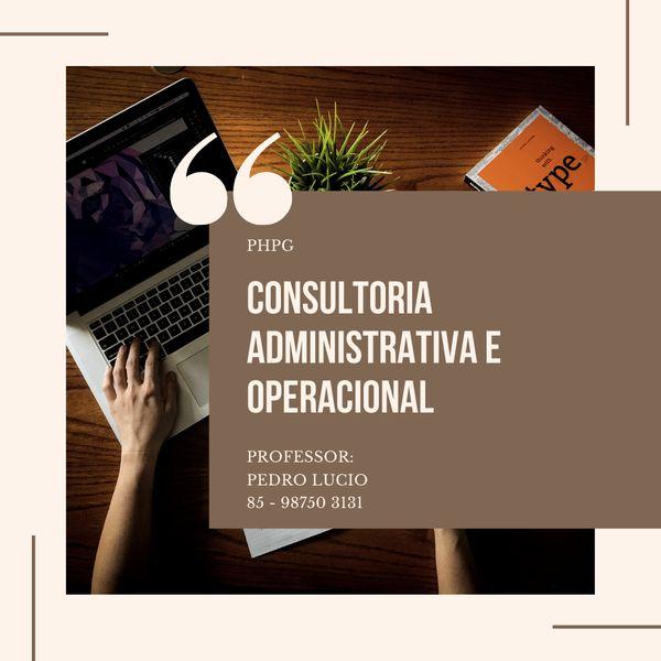 Imagem principal do produto Consultoria Administrativa e Operacional