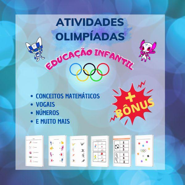 Imagem principal do produto APOSTILA OLIMPÍADAS - EDUCAÇÃO INFANTIL