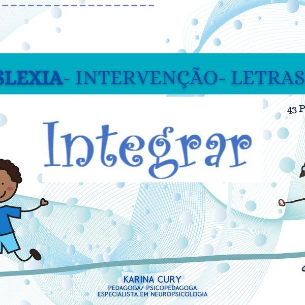 Imagem principal do produto DISLEXIA- INTERVENÇÃO- LETRAS F/V