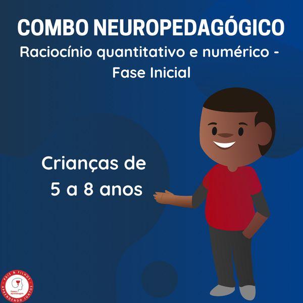 Imagem principal do produto COMBO 1 – Raciocínio quantitativo e numérico – Fase inicial (5 a 8 anos)