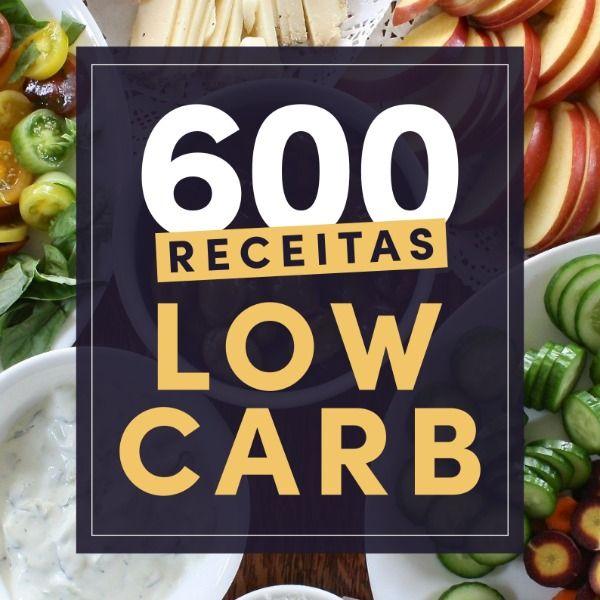 Imagem principal do produto 600 Receitas Low Carb