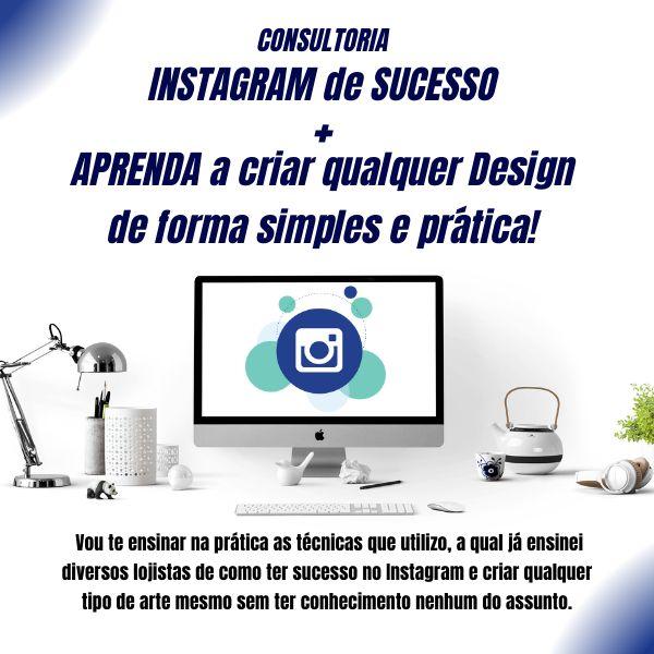 Imagem principal do produto INSTAGRAM de SUCESSO + APRENDA a criar qualquer Design de forma simples e prática!