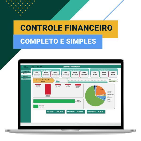 Imagem principal do produto Controle Financeiro Pessoal