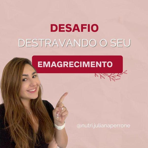 Imagem principal do produto DESAFIO DESTRAVANDO O SEU EMAGRECIMENTO